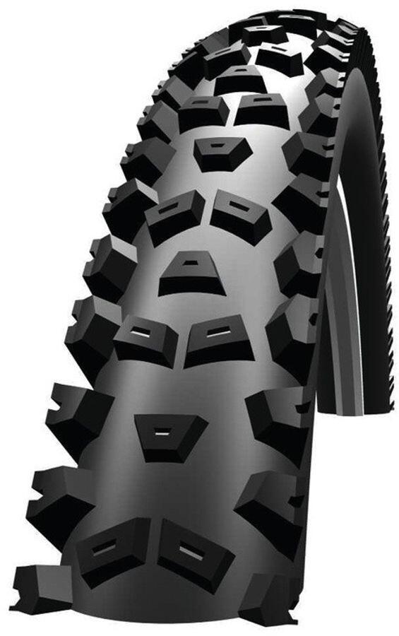"26/"" Bike Tyre Clincher Schwalbe Space Wire 26X2.35/"" Black"